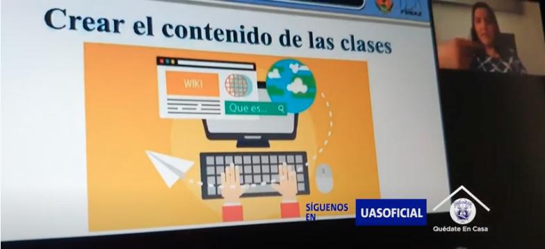 Capacitará UAS a docentes para el uso de plataformas digitales